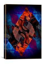 Abstract: Moreton Corbet 1, Canvas Print