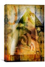 Abstract: Moreton Corbet #2, Canvas Print