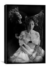 The War bride, Canvas Print