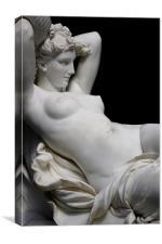 Pygmalions Galatea Statue, Canvas Print