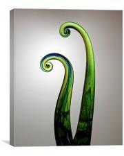 Glass Swirls, Canvas Print