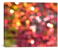Bokeh lights , Canvas Print