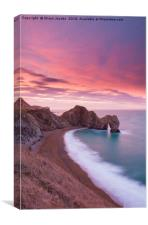 Durdle Door sunrise , Canvas Print