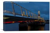 Twin Sails bridge , Canvas Print