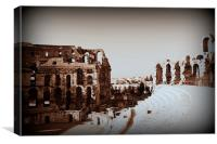 View from El Djem., Canvas Print