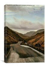 Road to Aber, Canvas Print