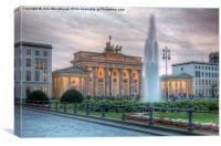 Brandenburg Gate, Canvas Print
