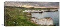 Flamborough Head and Selwicks Bay, Canvas Print