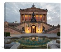 Alte Nationalgalerie, Berlin, Germany, Canvas Print