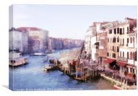 Canal Grande, Canvas Print