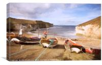 Flamborough, Canvas Print