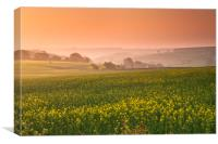 The Cotswold Hills, Canvas Print