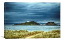 Island Lighthouse, Canvas Print