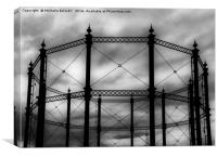 Gas Works, Canvas Print