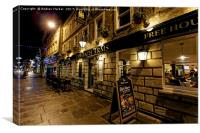 The Bath Arms, Market Place, Warminster, Wiltshire, Canvas Print