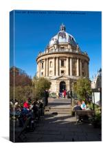 The Radcliffe Camera, Oxford, United Kingdom, Canvas Print