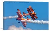 The Breitling Wingwalkers, Canvas Print
