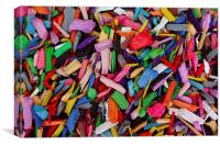 Woodchips, Canvas Print