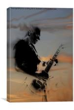 Rockstar Heaven, Canvas Print