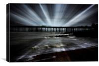 Rays of light , Canvas Print