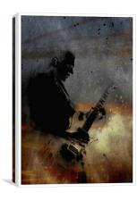 Rock Star , Canvas Print