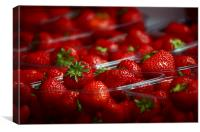 Strawberries , Canvas Print