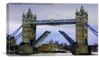 London Bridge , Canvas Print