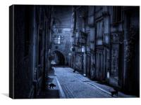 Cats Alley, Canvas Print