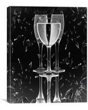 Broken Glass , Canvas Print