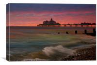 Hastings Pier , Canvas Print
