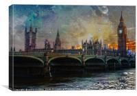 London Cityscape, Canvas Print