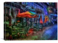 The Cafe, Canvas Print