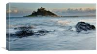 St Michaels Mount, Cornwall, England, Canvas Print