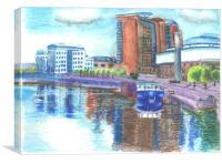 Belfast Waterfront, Canvas Print
