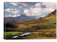 Snowdon Horseshoe Snowdonia, Canvas Print