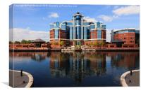 The Victoria Salford Quays, Canvas Print