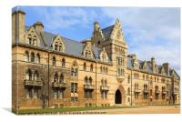 Christ Church College Oxford, Canvas Print