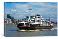 Mersey Ferry, Canvas Print