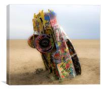 Cadillac Ranch 4405, Canvas Print