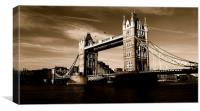 London, Tower Bridge, Canvas Print