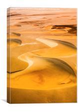 Sand Dunes, Canvas Print