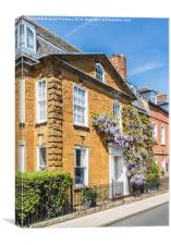 Cotswolds Town House, Canvas Print