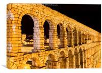 Aqueduct of Segovia, Canvas Print