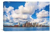Boston Skyline, Canvas Print