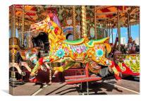 Carousel Horse, Canvas Print