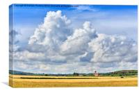 Norfolk Big Sky, Canvas Print