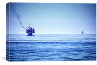 Deep Blue Sea, Canvas Print