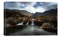 The Fairy Pools , Canvas Print