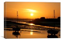 Chichester Harbour, Canvas Print