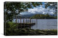Derwentwater Lake, Canvas Print
